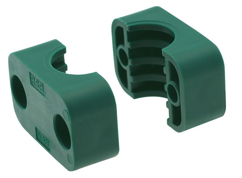 Rsb single standard tube clamp jaws polypropylene pipemore