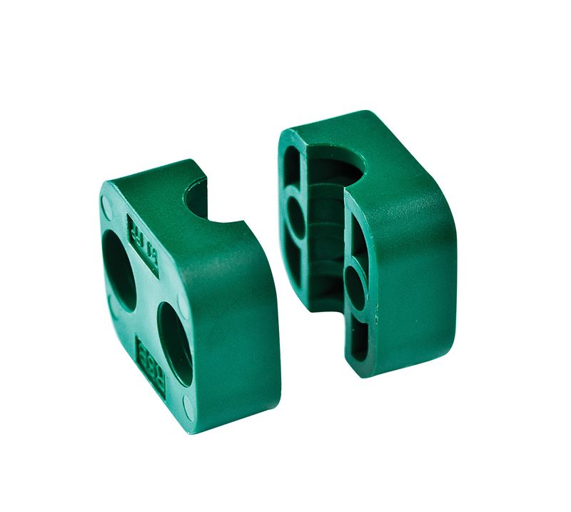 Rsb heavy duty tube clamp jaws polypropylene pipemore